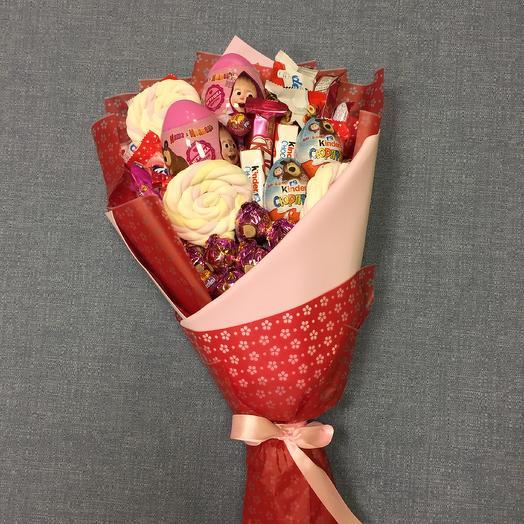 Сладкий детский букет: букеты цветов на заказ Flowwow