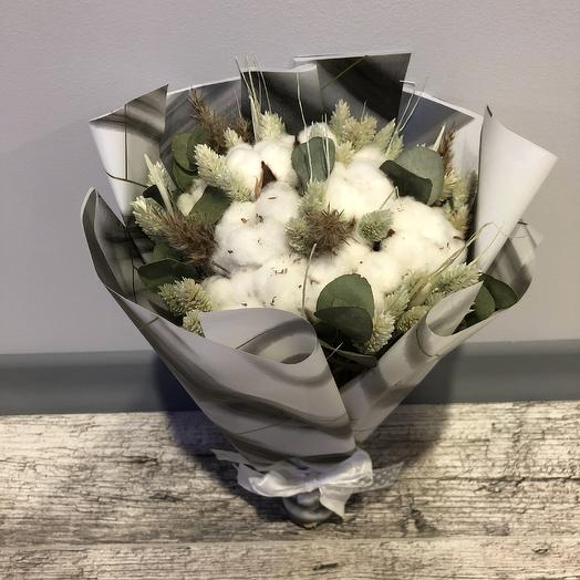 Bouquet of dried flowers
