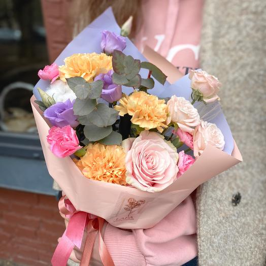 Bouquet creme brulee