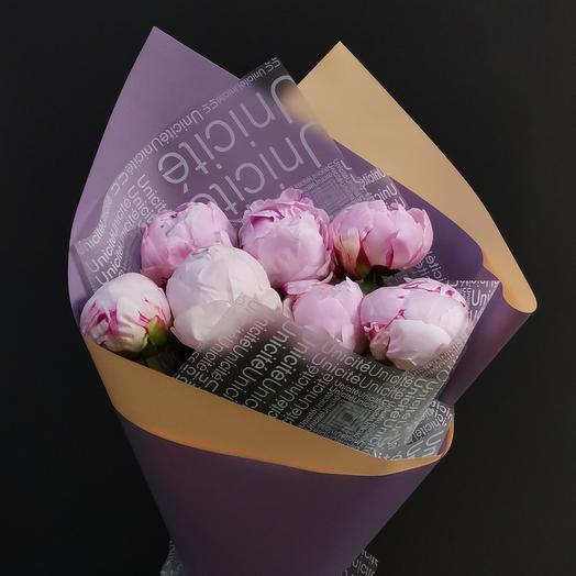 Пионовое настроение: букеты цветов на заказ Flowwow