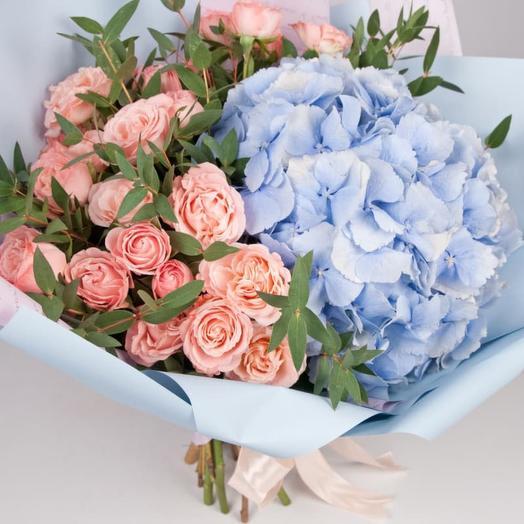 Букет цветов «Аромат нежности»
