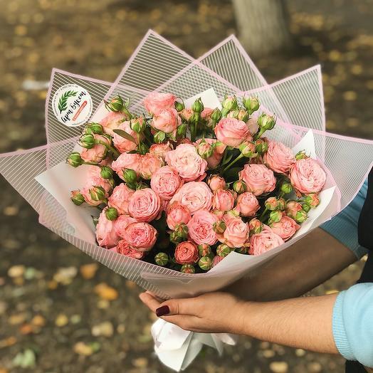 Букет кустовых роз «Престиж»