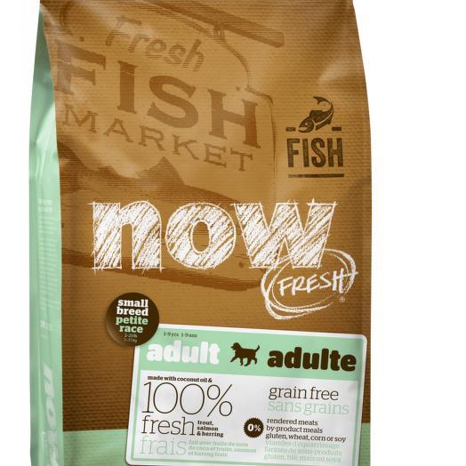 NOW FRESH беззерновой сухой корм для собак мелких пород с форелью, лососем и овощами 2,72 кг