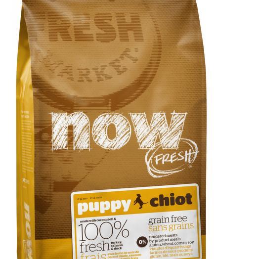 NOW FRESH беззерновой сухой корм для щенков всех пород с индейкой, уткой и овощами 5,45 кг