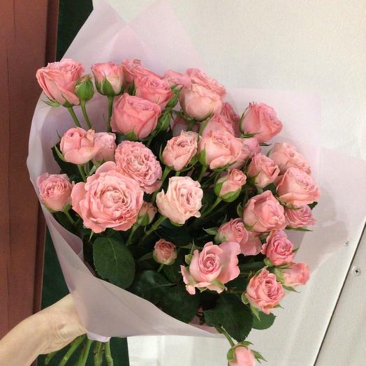 Моно пионовидной розы