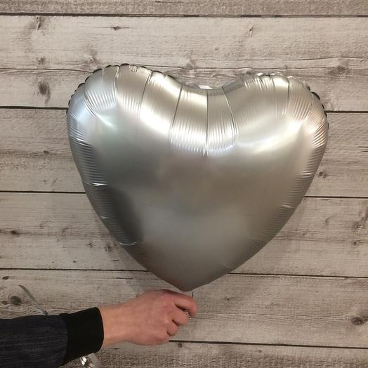 Шар фольга сердце (1шт)