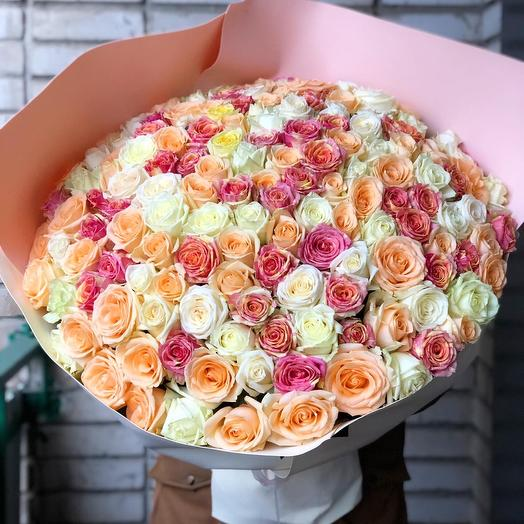 Букет роз « Романтические чувства »