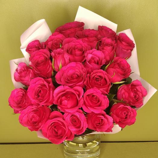 Букет роза Кения 25 шт