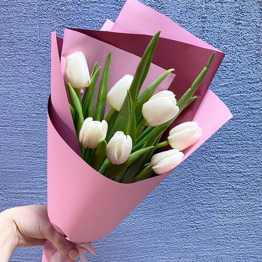 Корпоративный 7 тюльпанов