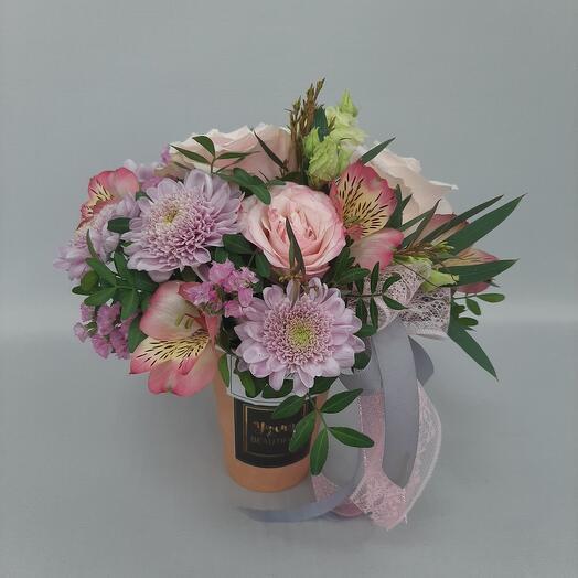 Розовая вата
