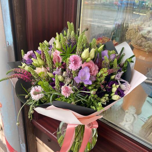Букет цветов Садовый летний