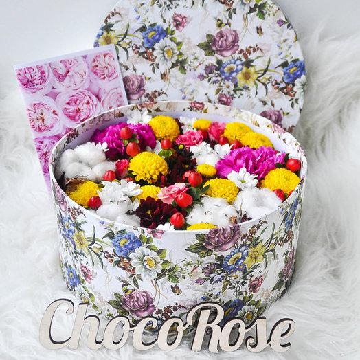 Коробочка с цветами Хоуп