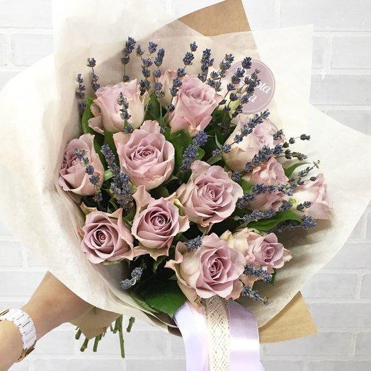 Лаванроуз: букеты цветов на заказ Flowwow