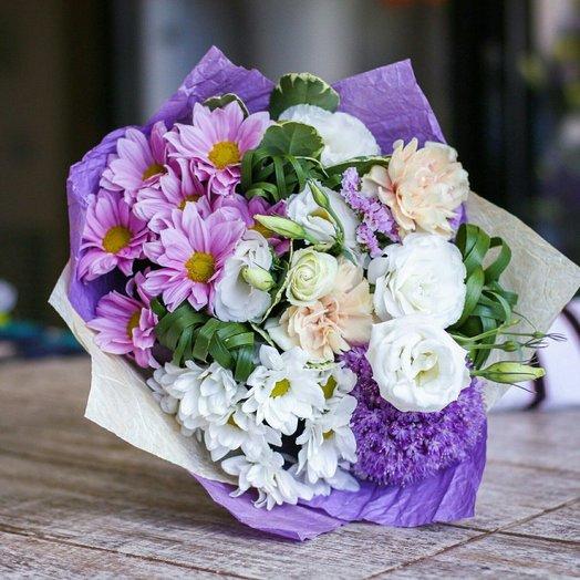 Букет  Сиреневый: букеты цветов на заказ Flowwow