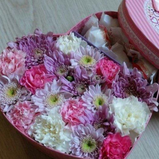 Коробочка мини: букеты цветов на заказ Flowwow
