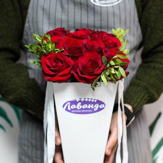 Розы в плайм-пакете: букеты цветов на заказ Flowwow