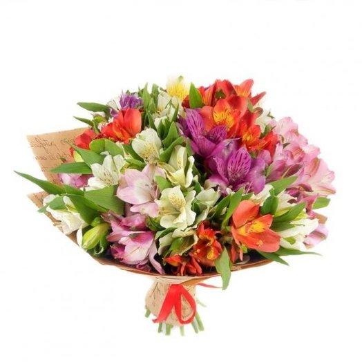 Букет из альстромерии : букеты цветов на заказ Flowwow