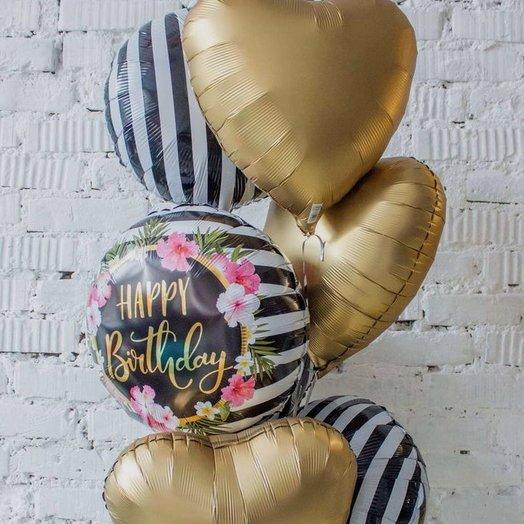 Гелиевые шары: букеты цветов на заказ Flowwow