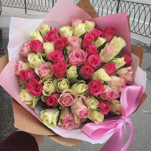 Роза кения 51шт