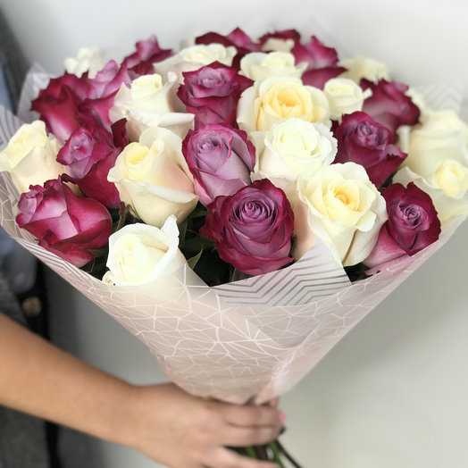 Сиреневая радость: букеты цветов на заказ Flowwow