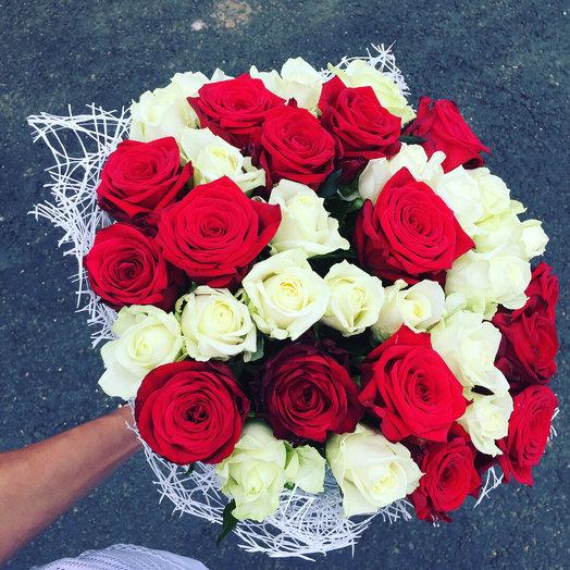 51 роза Россия: букеты цветов на заказ Flowwow