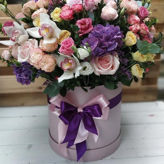 Микс гигант: букеты цветов на заказ Flowwow
