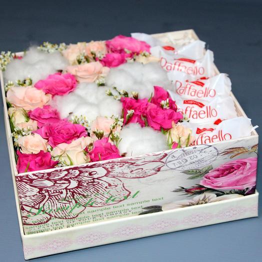 """""""Нежно-розовая"""": букеты цветов на заказ Flowwow"""