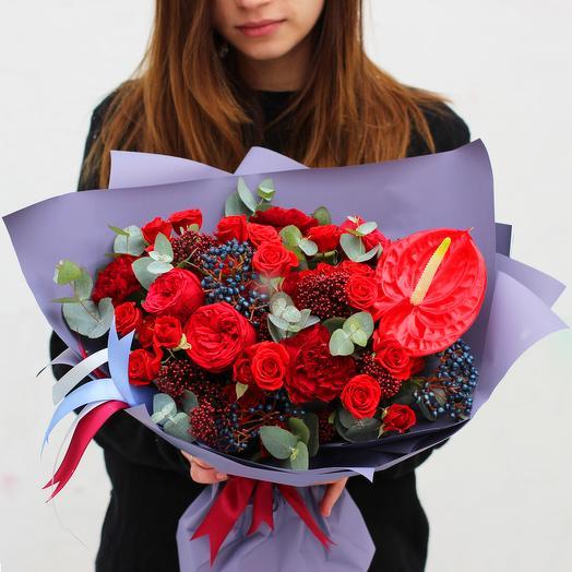 Букет 10: букеты цветов на заказ Flowwow