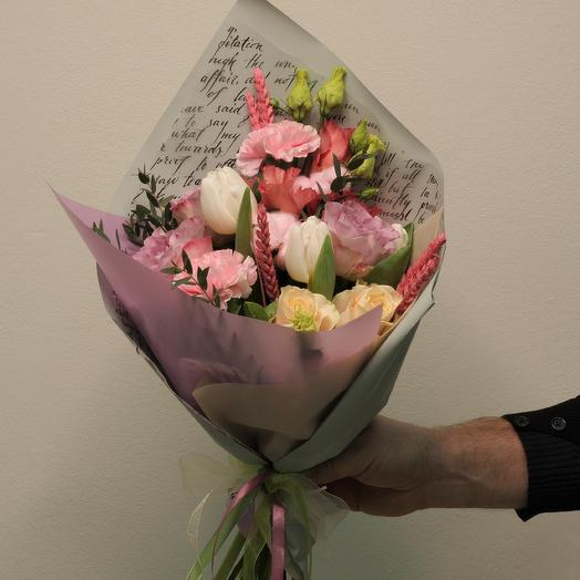 Букет-призент: букеты цветов на заказ Flowwow