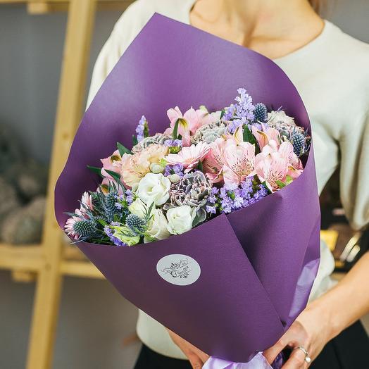 Нежные мгновенья: букеты цветов на заказ Flowwow