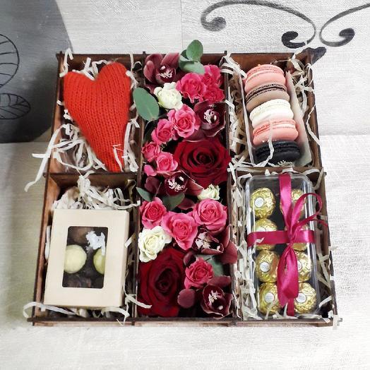 Стильное признание: букеты цветов на заказ Flowwow