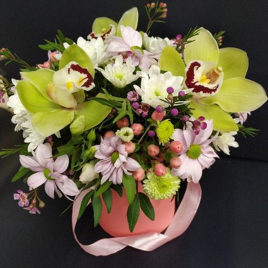 """Коробочка """"Весенняя капель"""": букеты цветов на заказ Flowwow"""