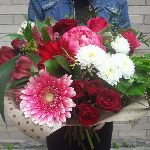 Вишневое настроение: букеты цветов на заказ Flowwow