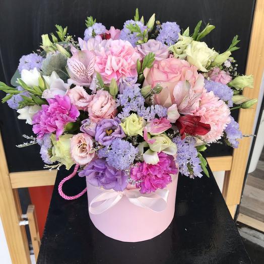 Композиция «Летний сад»: букеты цветов на заказ Flowwow
