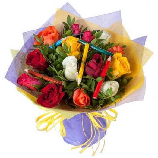 Букет на 1 Сентября 14: букеты цветов на заказ Flowwow