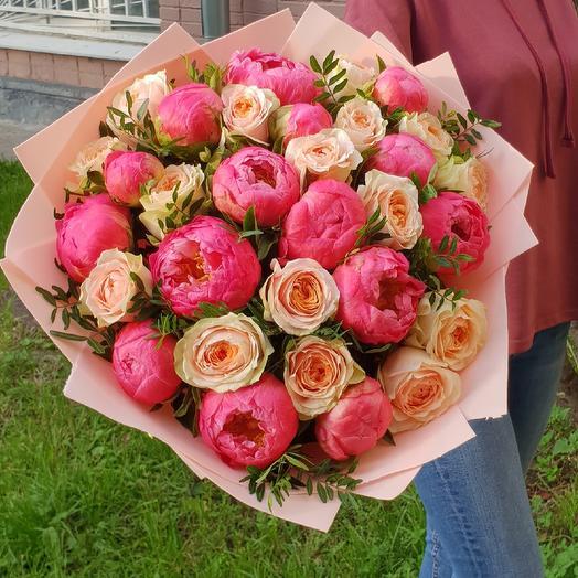 Биг пионобум: букеты цветов на заказ Flowwow