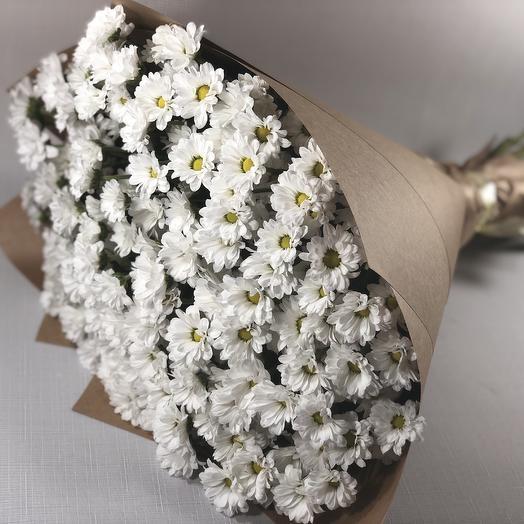 Букет из 21 хризантемы: букеты цветов на заказ Flowwow