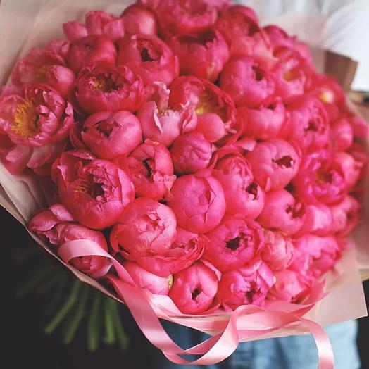 """Букет """"Корал Шарм"""" Large: букеты цветов на заказ Flowwow"""