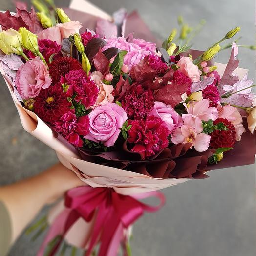 Брусничный сироп: букеты цветов на заказ Flowwow
