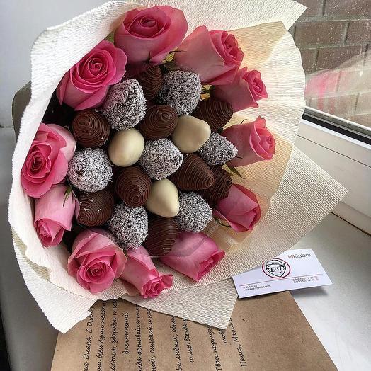 Букет САТУРН: букеты цветов на заказ Flowwow