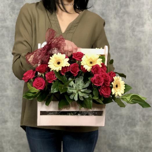 Дыхание: букеты цветов на заказ Flowwow
