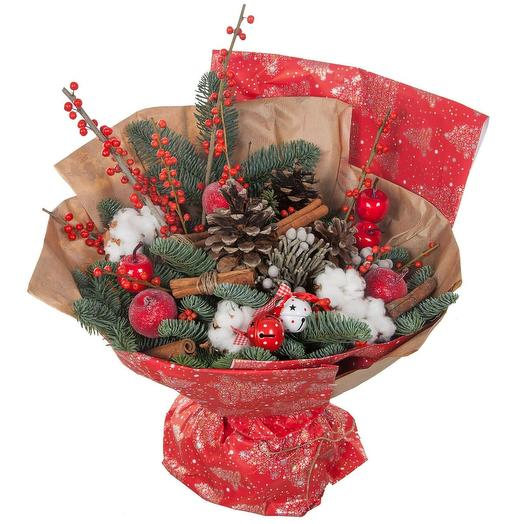A Bouquet For The New Year: flowers to order Flowwow