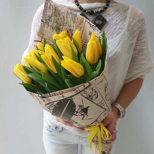 Желтые солнышки: букеты цветов на заказ Flowwow