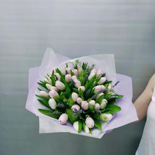 25 Тюльпанов и лаванда