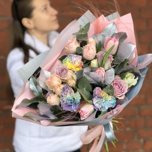 Милый единорог: букеты цветов на заказ Flowwow