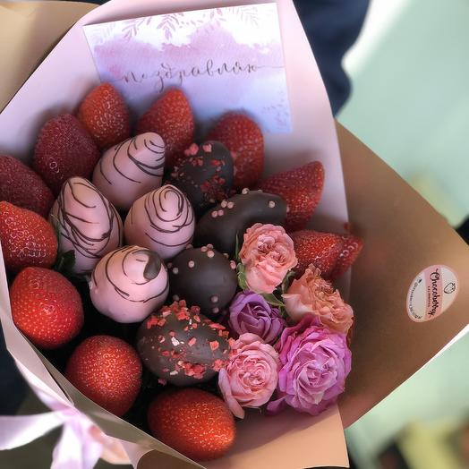 Strawberry bouquet Chocolate kiss