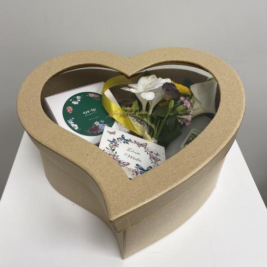 Подарок 3 в 1: букеты цветов на заказ Flowwow