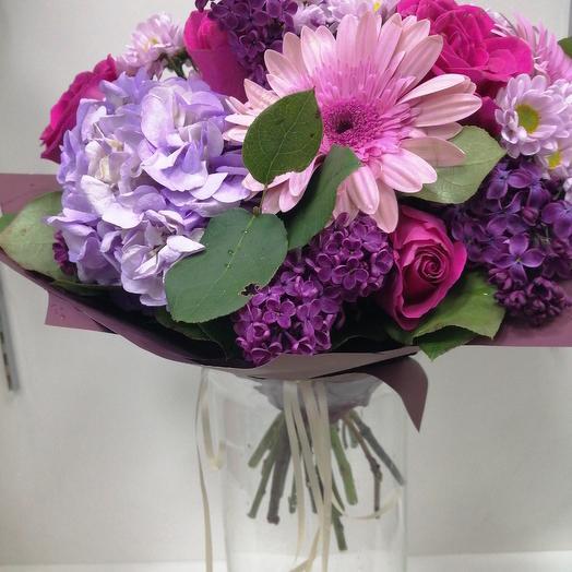 Ф. Настроение: букеты цветов на заказ Flowwow