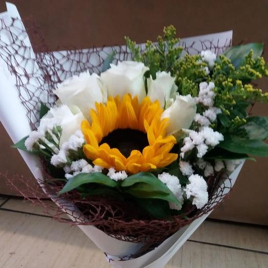 Букет «Фантазия»: букеты цветов на заказ Flowwow