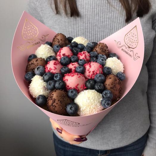 Букет Клубника в шоколаде размер S